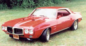 Red Hot 1969 Pontiac Firebird 428HO